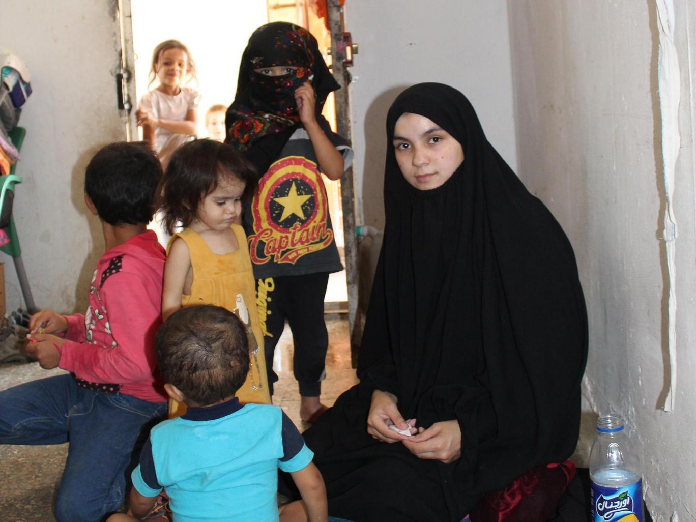 فرار از دست داعش/روایت مصائب عروس داعشی برای بازگشت به کشورش