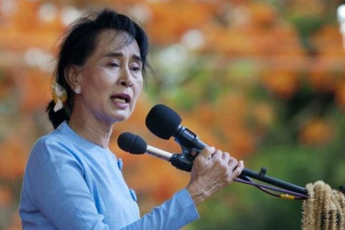 آنگ سان سو چی سرانجام درباره اوضاع هولناک مسلمانان میانمار سخنرانی میکند