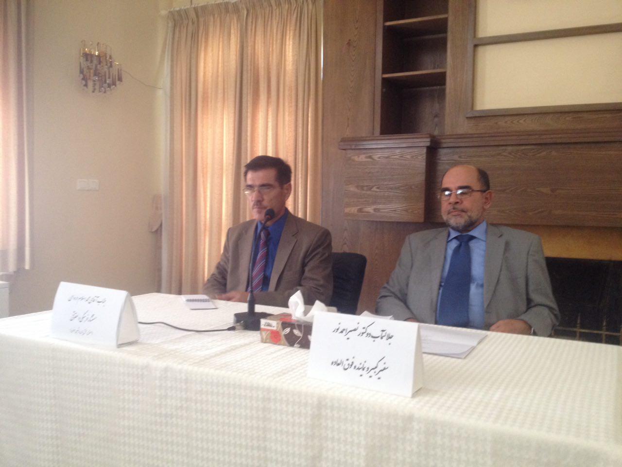 نشست تسهیل روند صدور پاسپورتهای مهاجرین افغانستانی برگزار شد