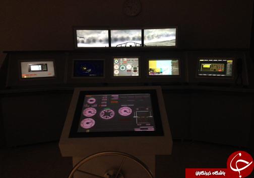 ساخت شبیه ساز پل فرماندهی کشتی در مازندران + تصاویر