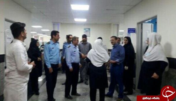 تصاویری از مجروحان حادثه سقوط تله کابین در بیمارستان