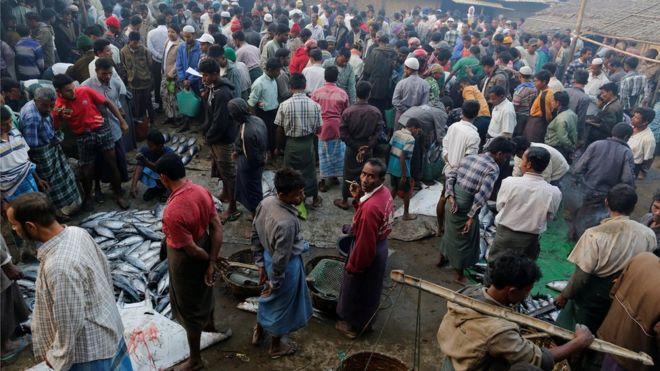 حمایت دولت بنگلادش از آوارگان روهینگیایی + فیلم