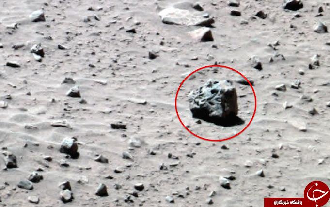 کشف موجودی عجیب در مریخ ! تصاویر