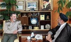 وزیر اطلاعات با فرمانده کل ارتش دیدار و گفتوگو کرد