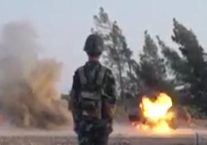 آموزش مهنسین سوری توسط ارتش روسها برای مقابله با داعش+فیلم