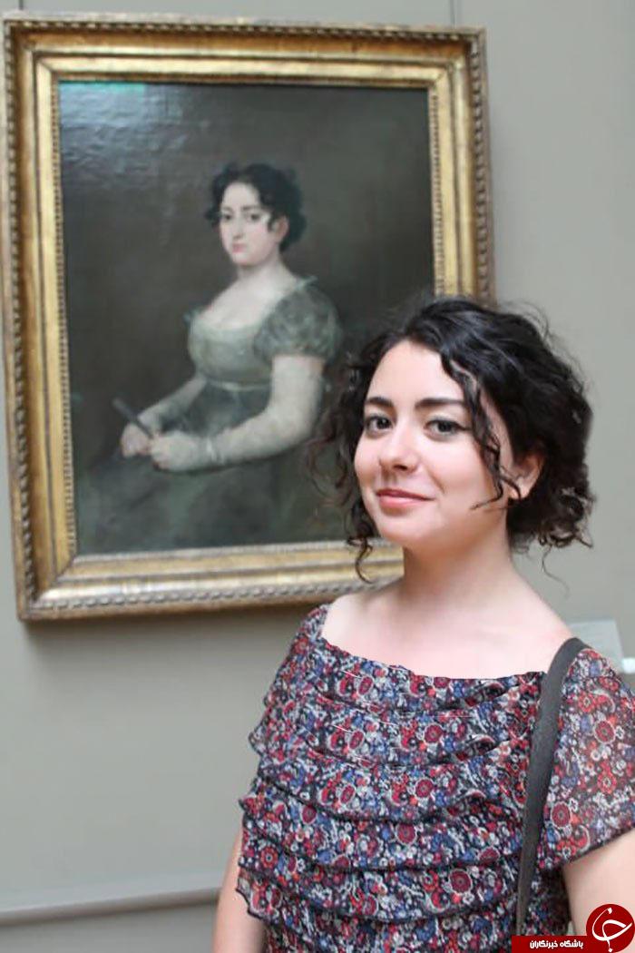 آیا تا کنون همزاد خود را در موزهها یافتید؟+ تصاویر
