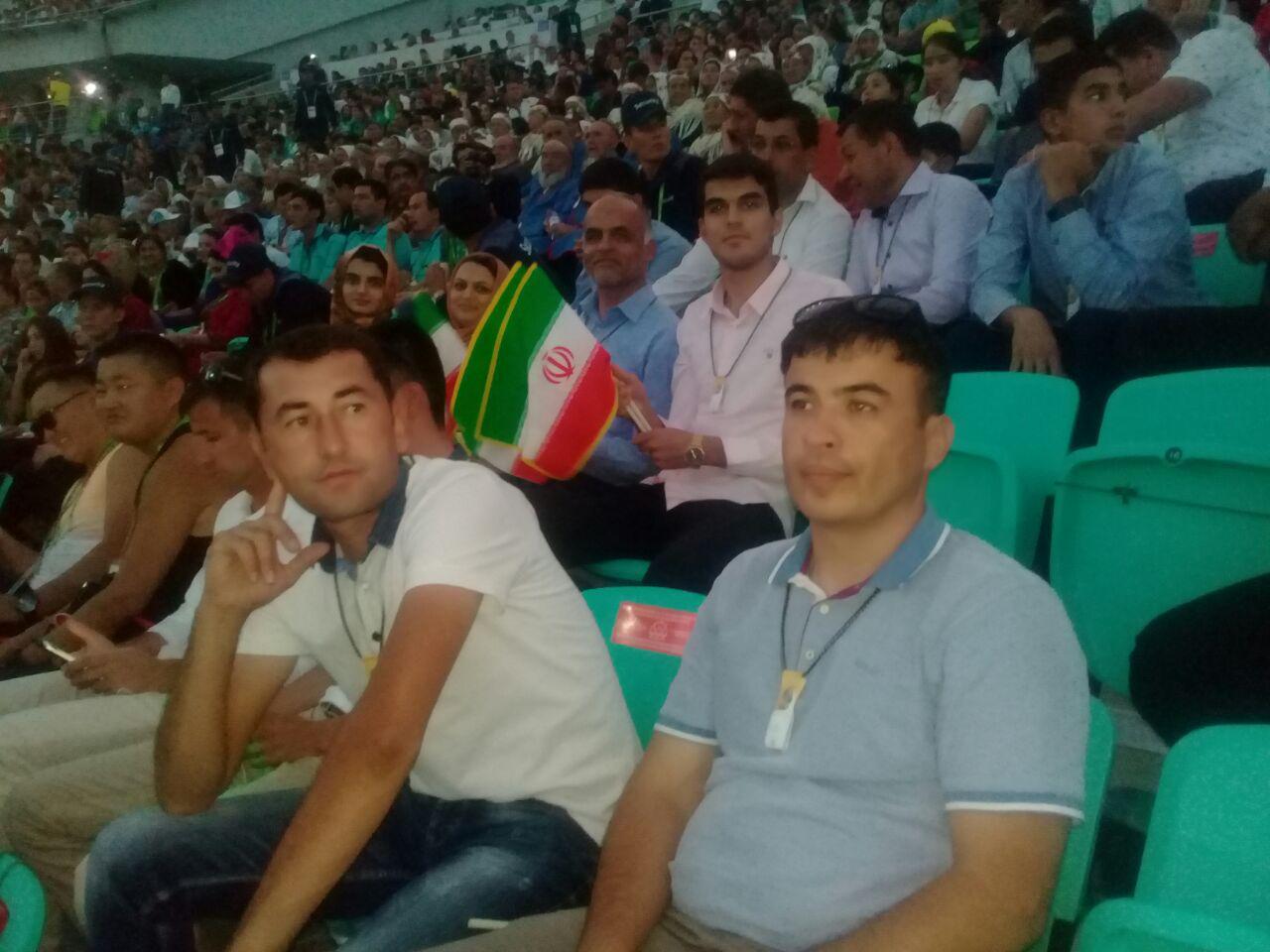 حاشیههای مراسم افتتاحیه مسابقات داخل سالن عشق آباد ۲۰۱۷ +تصاویر