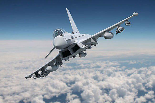 قطر 24 فروند جنگنده تایفون از انگلیس میخرد