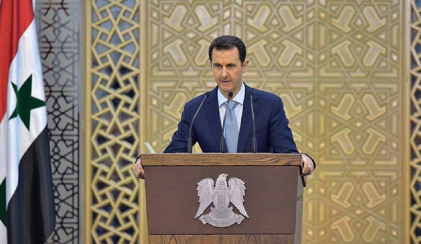 اسد: به هیچ کس اجازه نخواهیم داد کشورمان را تخریب کند