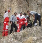 جان باختن امدادگر 16 ساله هلال احمر در ارتفاعات فیروزکوه +تصاویر