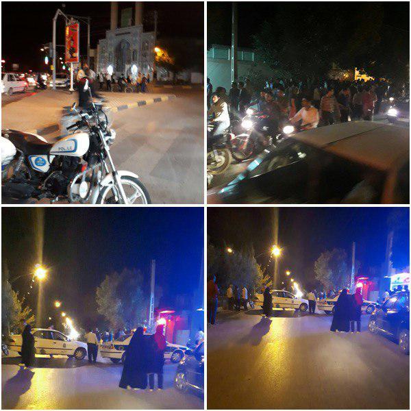 خودروی مظنون به بمب گذاری در مجاورت منزل پدری شهید حججی+عکس
