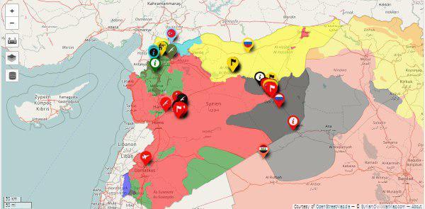مناطق امن چهارگانه؛ گامی راهبردی در پیروزی ارتش سوریه و مقاومت بر تروریسم تکفیری + نقشه و جزئیات