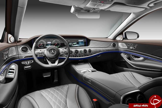 رونمایی از اتومبیل S 560e مرسدس بنز + تصاویر