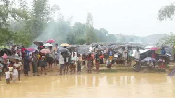 بارش باران آواگان میانمار را زمینگیر کرد