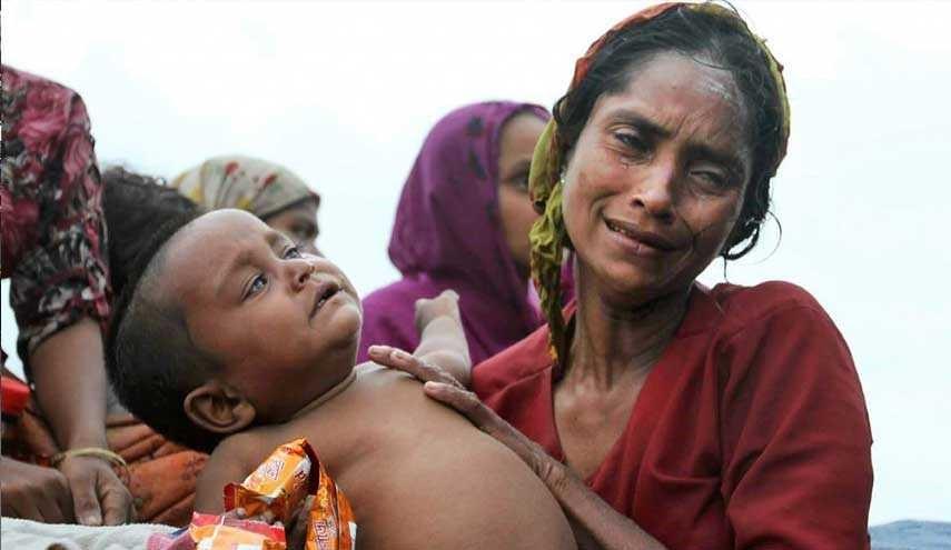 واکنش رهبر دولت میانمار نسبت به جنایتها علیه مسلمانان + فیلم