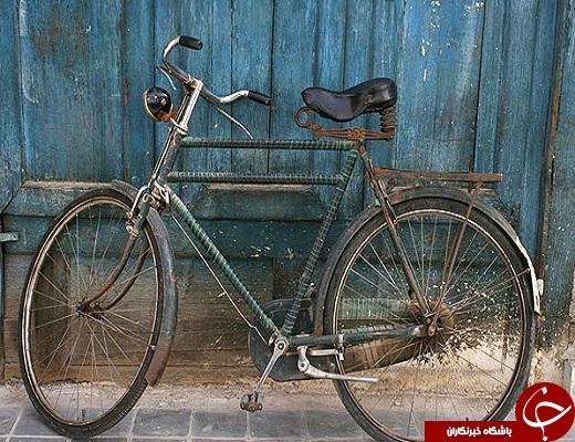 صدای دلنواز زنگ دوچرخه ها در شهر دوچزخه ها به گوش می رسد+تصویر