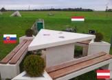 باشگاه خبرنگاران -یک میز که در سه کشور قرار دارد +عکس