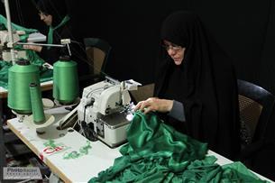 رونمايي از لباس شيرخوارگان حسينی در مشهد