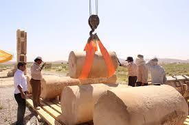 باشگاه خبرنگاران -طرح جابهجایی کتیبه مسجد اتابکی بار عام انجام شد