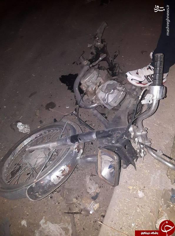 حمله موتور انتحاری به زنان و کودکان + تصاویر