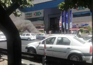 نزاع دستهجمعی در تهرانپارس با اسلحه و شمشیر/آتشسوزی پاساژ کوروش در اتوبان ستاری/چهره زننده جنگل گلستان + فیلم و تصاویر