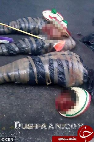 کشف جسد های سر بریده شده در مکزیک +عکس