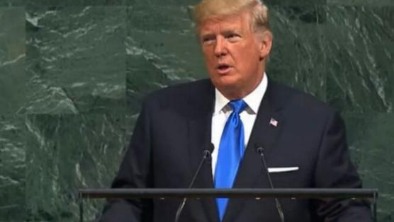 ترامپ, دونالد ترامپ, رئیس جمهور آمریکا, رئیس جمهور ایالات متحده, نطق تارمپ, سخنرانی ترامپ, برجام, سازمان ملل, مجمع عمومی سازمان ملل, نطق ترامپ در مجمع عمومی سازمان ملل, نطق ترامپ برجام, پیروزی ایران