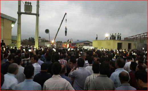 حکم قاتل آتنا اصلانی در ملاء عام اجرا شد