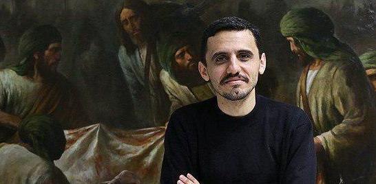 نقاشی دیگری از حسن روحالامین با موضوع شهید حججی رونمایی شد