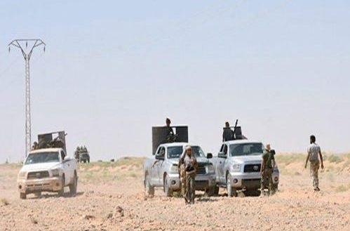تسلط ارتش سوریه بر مناطق جدیدی در اطراف شهرک التبنی در حومه غربی دیرالزور