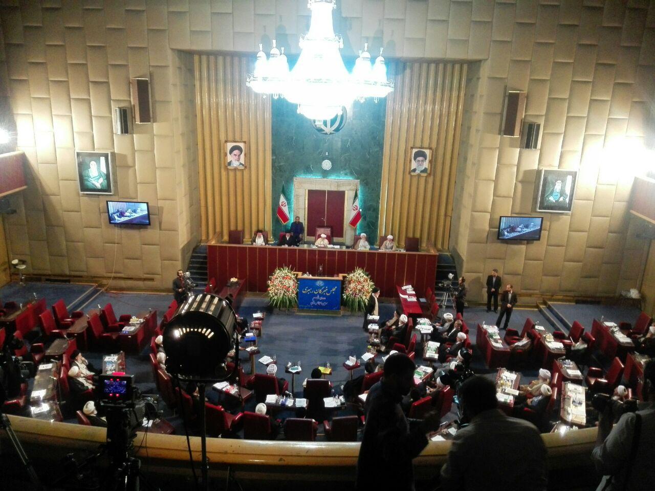 آغاز مراسم اختتامیه سومین اجلاس پنجمین دوره مجلس خبرگان رهبری,