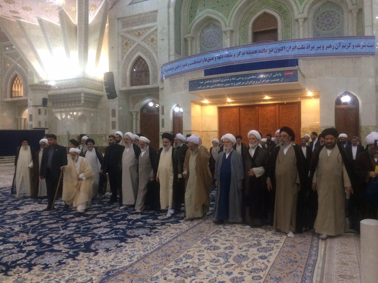 رئیس و اعضای مجلس خبرگان رهبری با آرمانهای حضرت امام خمینی (ره) تجدید میثاق کردند.