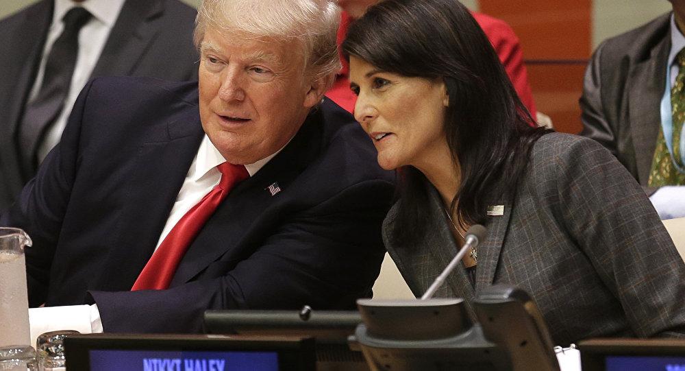 ترامپ و هیلی با ادعاهای دروغین علیه ایران، برای آغاز جنگ زمینهچینی میکند