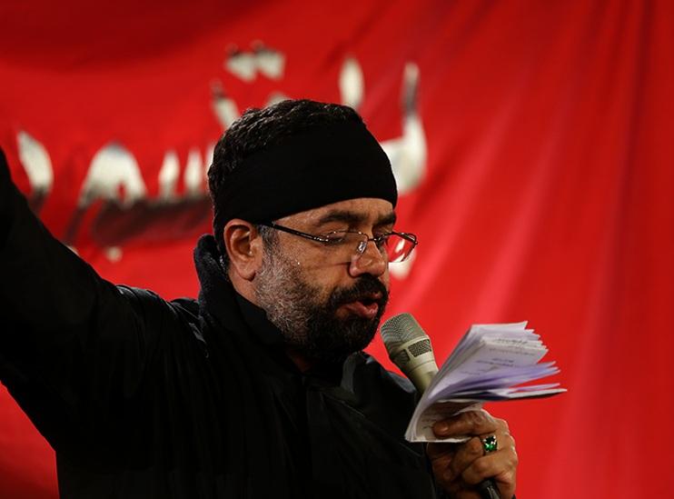 مداحی شور به دست و پای دل موی تو پیچید محمود کریمی