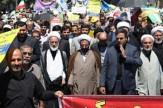 باشگاه خبرنگاران - راهپیمایی مردم اراک در اعتراض به سخنان ترامپ ؛ بعد از نماز جمعه