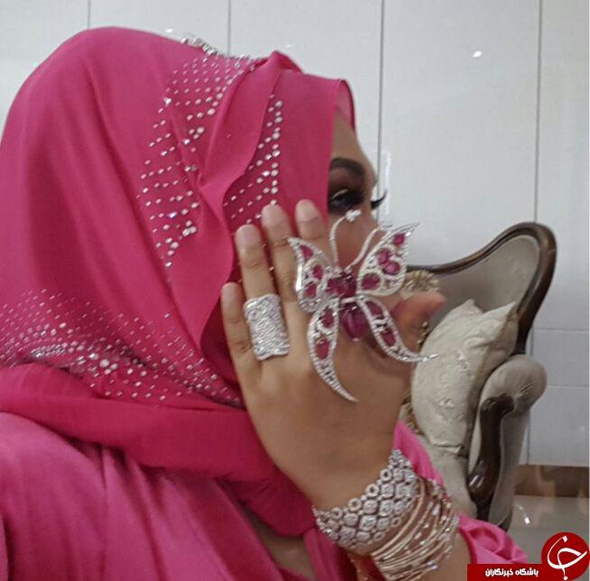 فخر فروشی زن ثروتمند زن پولدار دختر مالزیایی خودنمایی زنان خودنمایی چیست اخبار مالزی datuk vida