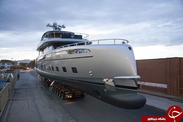 تصاویری از گران قیمت ترین قایق تفریحی جهان با استخر اختصاصی