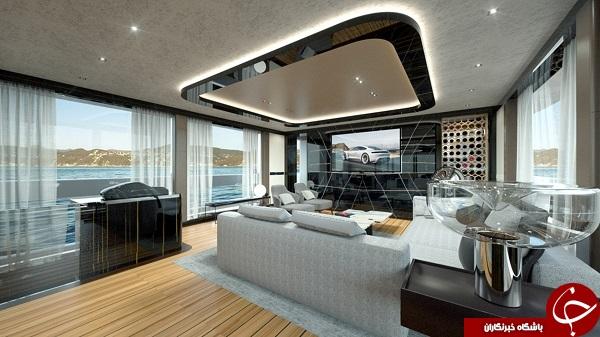 گران قیمتترین قایق تفریحی جهان با استخر اختصاصی + تصاویر