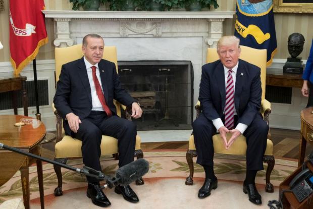 نمره بالای ترامپ به عملکرد اردوغان