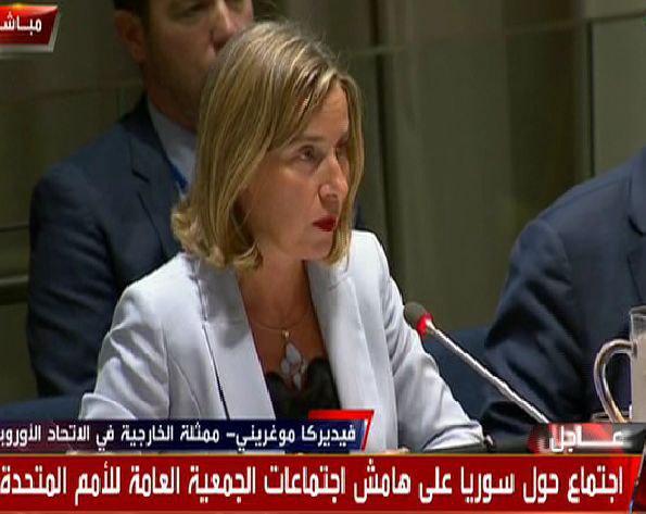 موگرینی: تقسیم سوریه به افزایش نگرانیها در خاورمیانه منجر میشود