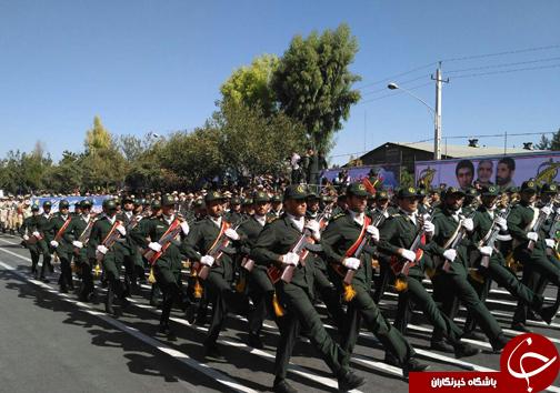رژه اقتدار نیروهای مسلح استان فارس آغاز شد