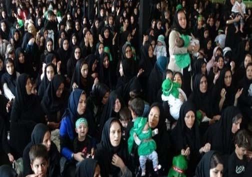 همایش شیرخوارگان حسینی در الیگودرز برگزار شد+ تصاویر