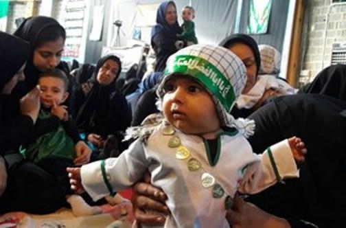 همایش شیرخوارگان حسینی در دورود برگزار شد+ تصاویر