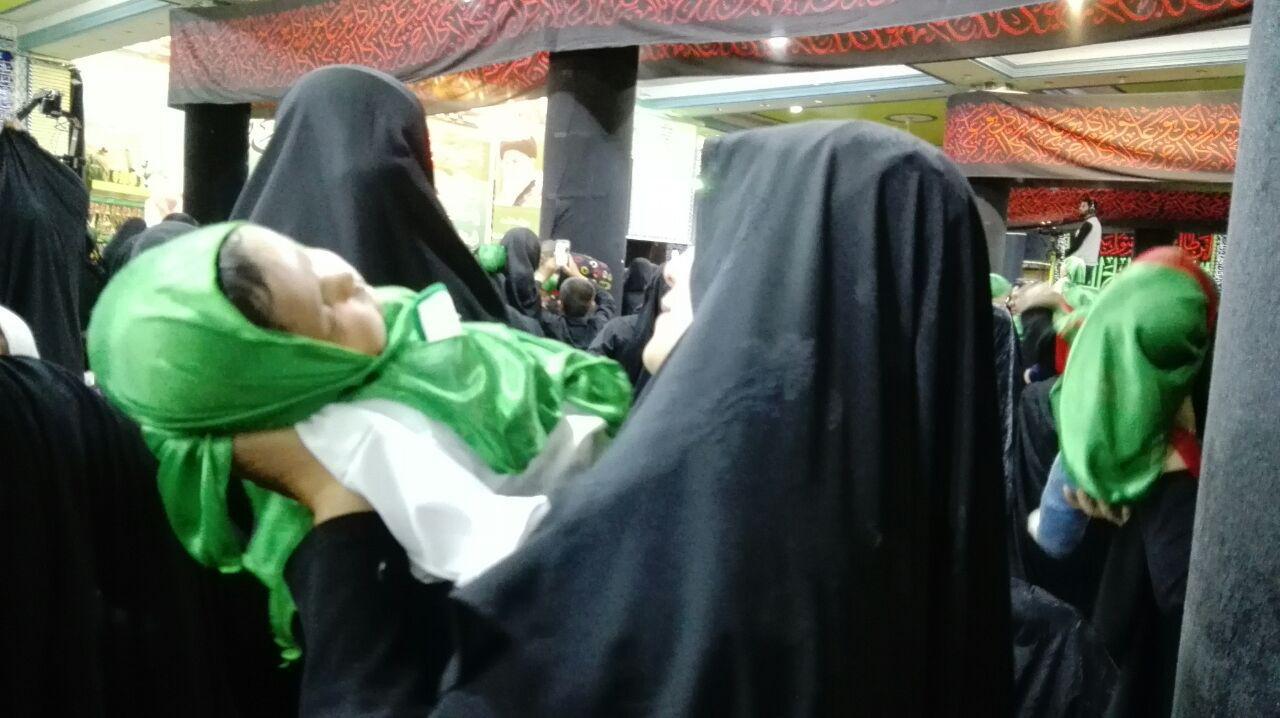 مادران کرمانی با حضرت رباب (س) همنوا شدند