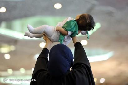 باشگاه خبرنگاران -مراسم شیرخوارگان حسینی در مصلای تهران(2)