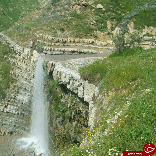نمایی زیبا از روستای تاریخی شاوله + تصاویر
