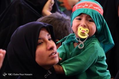 باشگاه خبرنگاران -مراسم شیرخوارگان حسینی در حرم شاهچراغ(ع)_شیراز