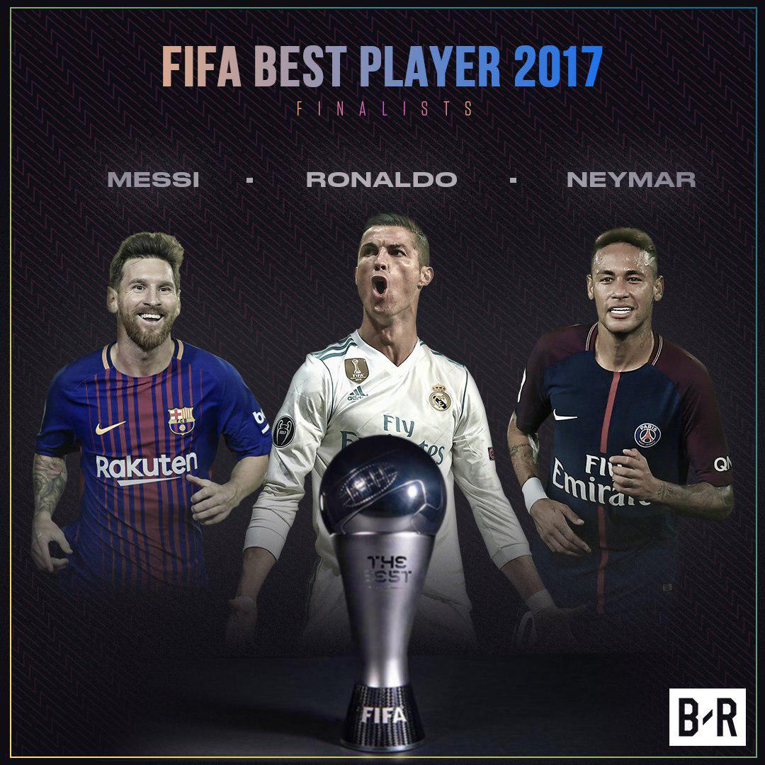 ۳ نامزد بهترین بازیکن سال جهان معرفی شدند