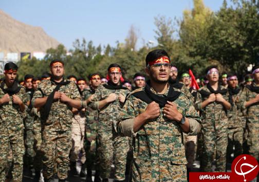 آغاز رژه اقتدار نیروهای مسلح استان فارس