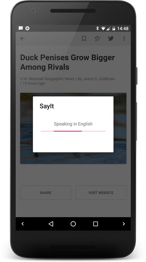 دانلود SayIt FULL v1.7 نرم افزار خواندن متن